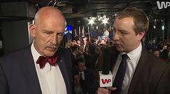 Korwin-Mikke: Chcemy zmniejszyć wpływ demokracji
