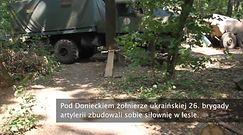 Tak ukraińscy artylerzyści relaksują się między potyczkami