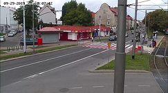 Gdańsk. Kierowca auta celowo rozjechał rowerzystę