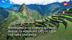 Machu Picchu stoi na bombie zegarowej