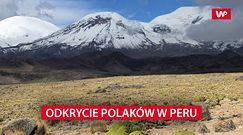 Wielkie odkrycie Polaków w Peru