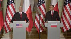 "Mike Pence o Amerykanach i Polakach. ""We are rodzina"""