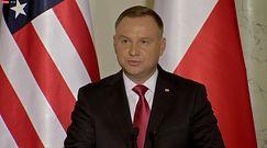 """Andrzej Duda o relacjach z Rosją. """"Sytuacja jest bardzo trudna"""""""