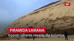Piramida Łamana otwarta dla turystów