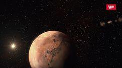 Burze piaskowe na Marsie
