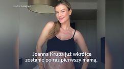 Joanna Krupa kwitnie w ciąży. Sesja z brzuszkiem zachwyca