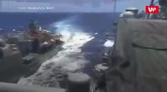 Incydent na Morzu Filipińskim. 15 metrów od katastrofy
