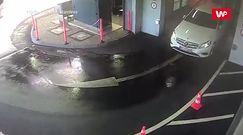 Nagranie z myjni samochodowej