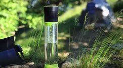 #techgadżet Ta butelka sama napełnia się wodą