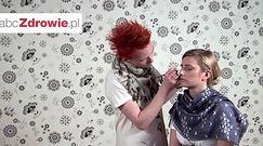Makijaż dla blondynki - oczy i usta