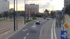Pijany kierowca w centrum miasta. Nagranie z Olsztyna