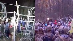 Agresja na granicy z Białorusią. Migranci chcieli wedrzeć się do Polski