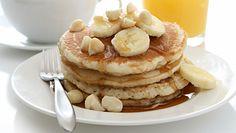 Przepis na pyszne placki bananowe. Idealne na zdrowe śniadanie lub podwieczorek