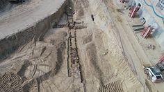 Odkrycie w Lublinie podczas budowy. Odkopano schron z czasów II wojny światowej