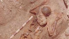 Czerwony szkielet z I wieku. Sensacyjne odkrycie archeologów we Włoszech