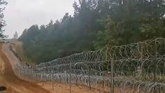 Ruch na granicy polsko-białoruskiej. Nowe nagranie Straży Granicznej