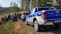 Beskidzkie lasy pod okiem policyjnego drona. Jesienna akcja służb