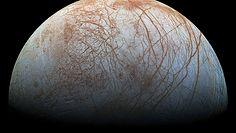 NASA: Pierwsze takie zdjęcia księżyca Jowisza. Europa na niezwykle szczegółowym zbliżeniu