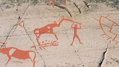 Naskalne malunki w Norwegii. Niektóre mają nawet ponad 5 tysięcy lat