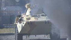 Rosjanie gotowi na odparcie terrorystów z Afganistanu. Nagranie z ćwiczeń wojskowych