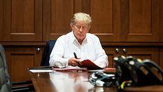 Koronawirus u Trumpa. Lekarze o stanie zdrowia prezydenta USA