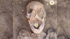 Mumia ze złotym językiem. Niesamowite odkrycie w Egipcie