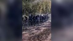 Imigranci na granicy. Kolejne wideo opublikowane przez Straż Graniczną