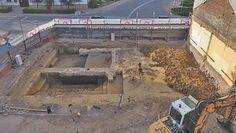 Sensacja archeologiczna. Budowali galerię, trafili na prehistoryczne skarby