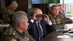 Władimir Putin na poligonie. Nowy sprzęt bojowy na ćwiczeniach Zapad-21