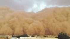 Podróż burzy piaskowej ''Godzilli'' z Afryki do USA. Naukowcy odkryli, jak to było możliwe
