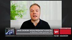 Doktor Bartosz Fiałek mówi co robić, kiedy ukąsi nas kleszcz