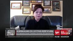 """Prof. Szuster-Ciesielska o szczepionkach Pfitzera i Moderny: """"Będą nas chroniły przed różnymi typami koronawirusów"""""""