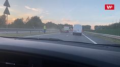 Koszenie pasa zieleni w Głuchowie. Kierowca nagrał przezabawną scenę