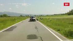 Karygodne zachowanie kierowcy. Nagranie z polskich gór