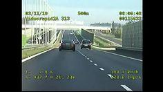 Wyprzedził policjantów jadąc 300 km/h. Dostał 10 punktów karnych i 500 zł mandatu
