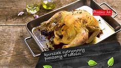 Cytrynowy kurczak pieczony w całości