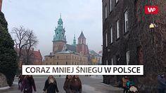 Coraz mniejśniegu w Polsce