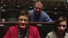 Relacja Joanny Scheuring-Wielgus z pustej sali plenarnej