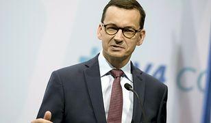 Mateusz Morawiecki chce twardej postawy wobec Czech
