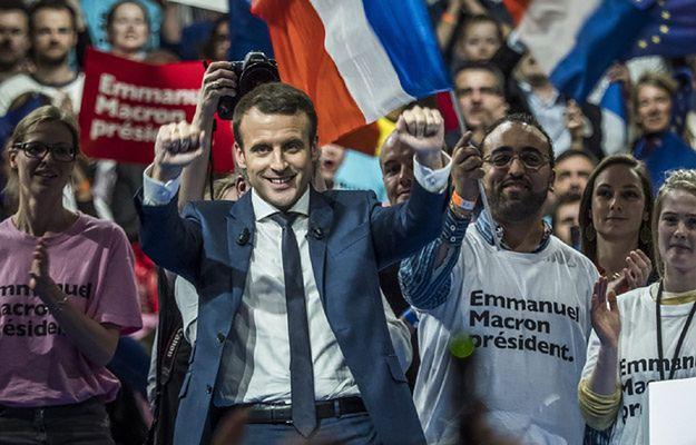 Emannuel Macron zwycięży w II turze wyborów prezydenckich - sondaż