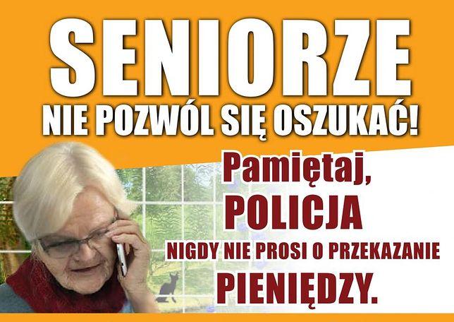 Śląskie. Policjanci przypominają, że nigdy telefonicznie nie informują o prowadzonych akcjach.