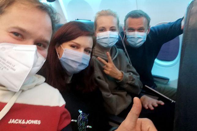 Aleksiej Nawalny powrócił do Rosji