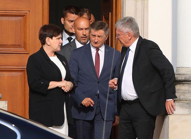 """Stanisław Karczewski dementuje informacje o ultimatum dla Dudy. """"To kłamstwa"""""""