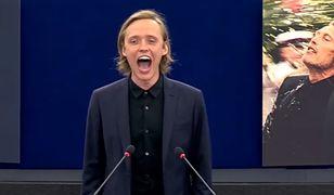 Bartosz Bielenia krzyczy w Strasburgu. Gest, który przejdzie do historii