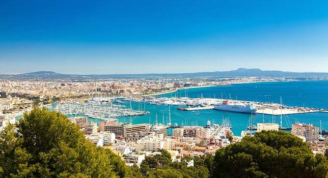 Palma - stolica i największe miasto Majorki