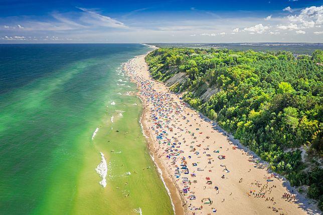 Plaże nad Bałtykiem są uwielbiane przez Polaków