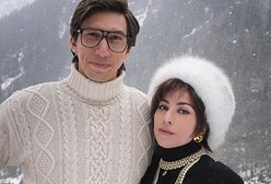 """Lady Gaga i Adam Driver nie do poznania. Pokazali zdjęcie z planu """"House Of Gucci"""""""