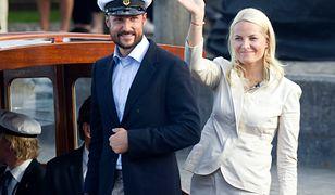 Mette-Marit i jej mąż książę Haakon