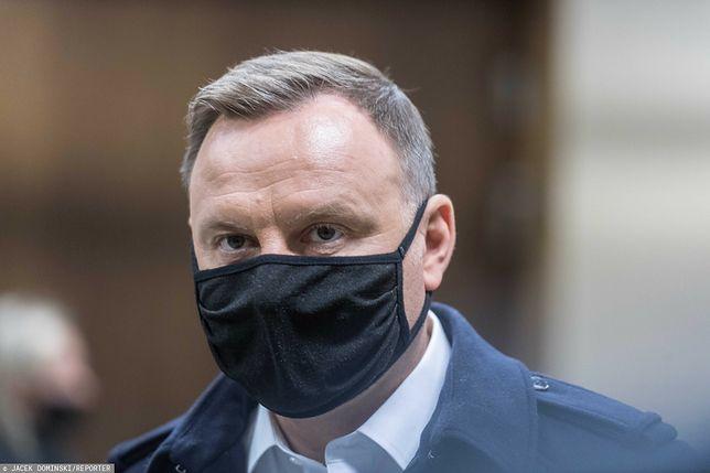 Andrzej Duda był zakażony koronawirusem. Prezydent oddał osocze