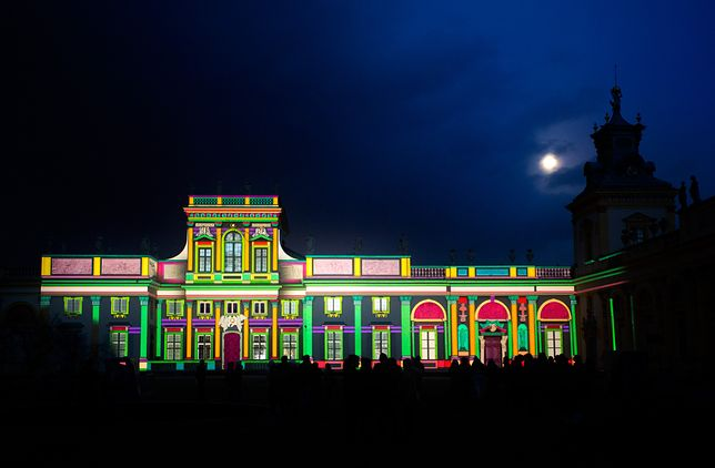 Dodatkowe mappingi na Pałacu w Wilanowie! [WIDEO]